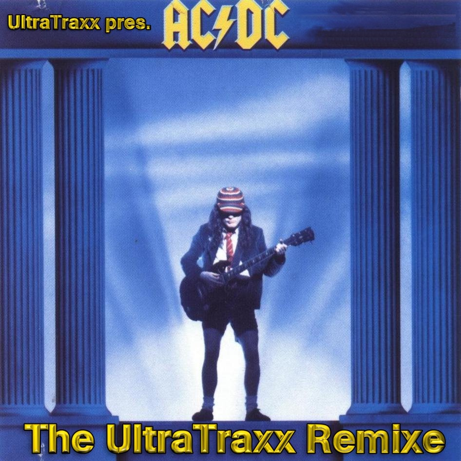 AC/DC - The UltraTrax Mixes: BACKUP CD