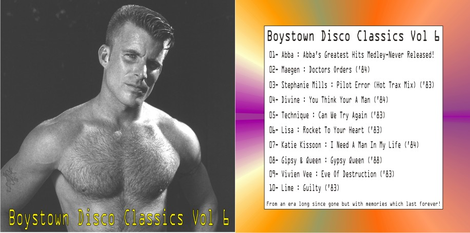 Boystown Disco Classics Vol 06: BACKUP CD