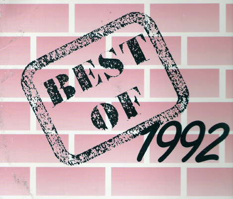 Powerhouse Very Best Of 1992: BACKUP CD