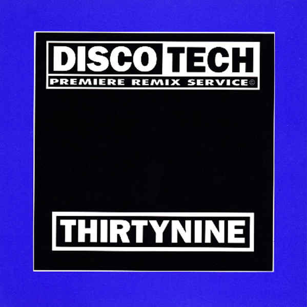 Discotech Vol 39: BACKUP CD