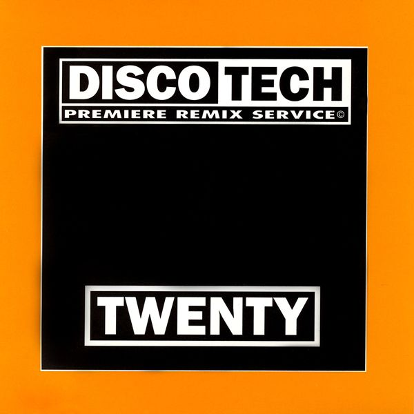 Discotech Vol 20: BACKUP CD