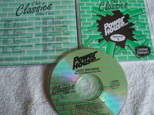 Powerhouse Club Classics Vol 03: BACKUP CD