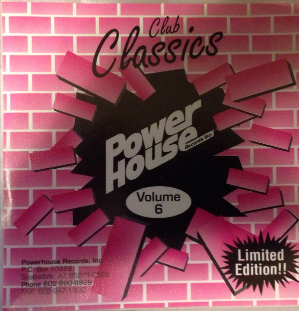 Powerhouse Club Classics Vol 06: BACKUP CD
