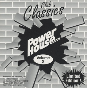 Powerhouse Club Classics Vol 02: BACKUP CD