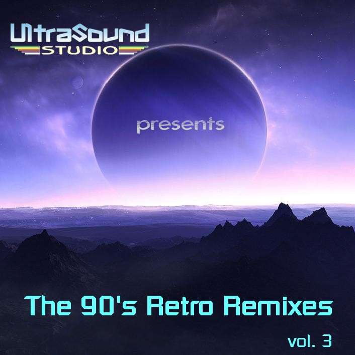 UltraSound 90's Retro Remixes Vol 3: BACKUP CD