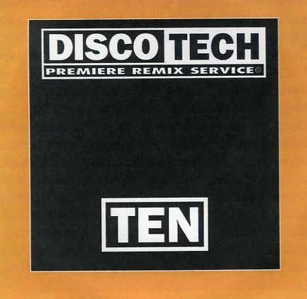 Discotech Vol 10: BACKUP CD