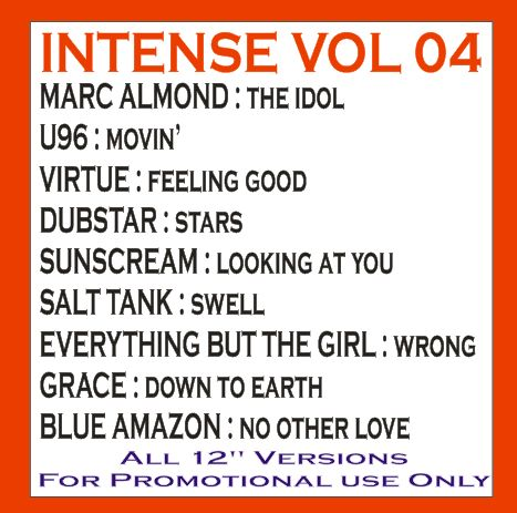Intense Promo Service CD Vol 04: BACKUP CD