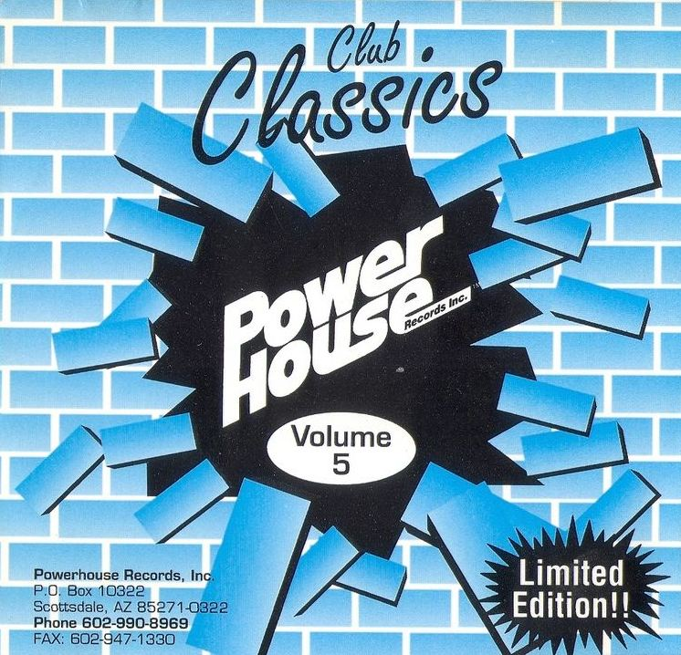 Powerhouse Club Classics Vol 05: BACKUP CD