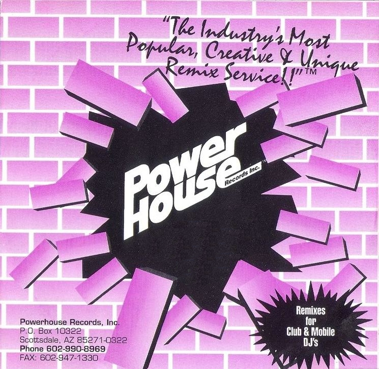Powerhouse Best Of Club Classics Part 1: BACKUP CD