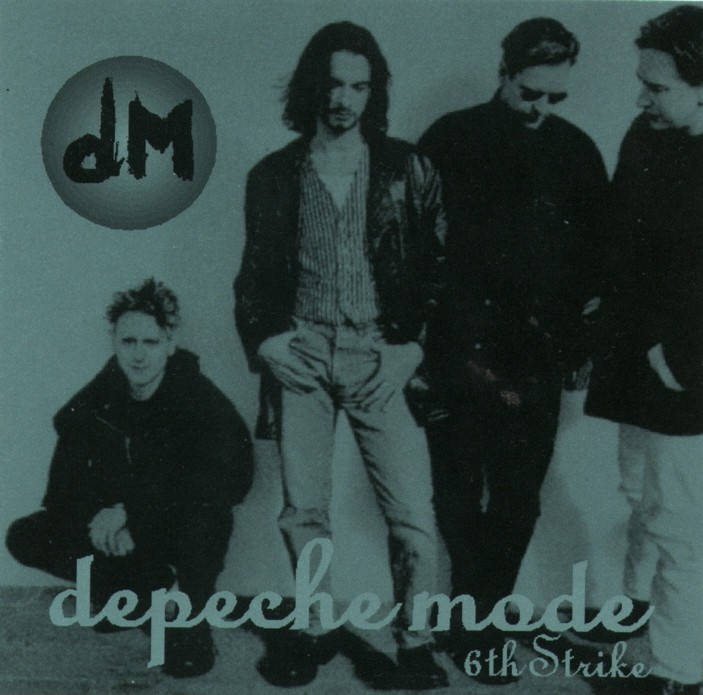DEPECHE MODE the 6th strike - mixes: BACKUP CD
