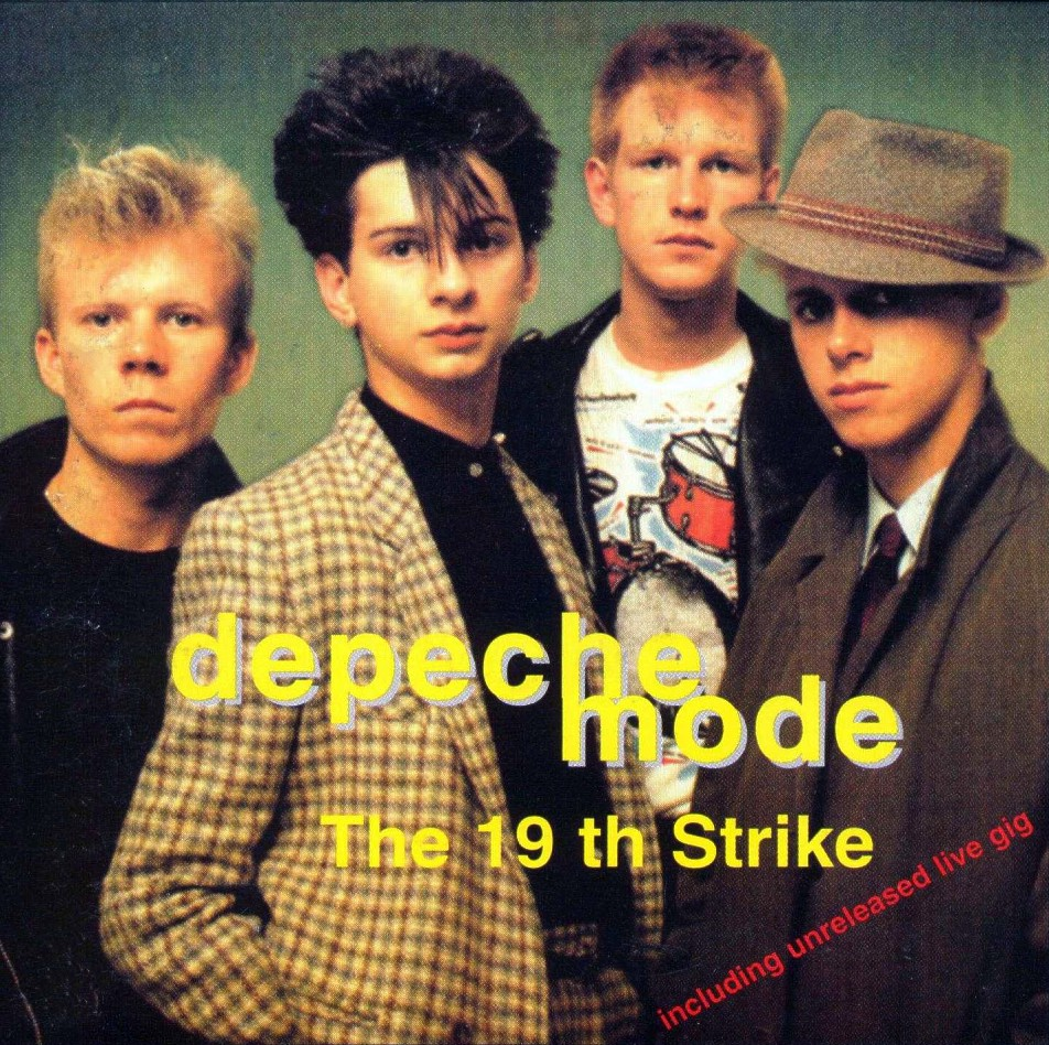 DEPECHE MODE the 19th strike - mixes: BACKUP CD