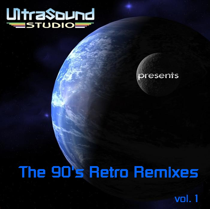 UltraSound 90's Retro Remixes Vol 1: BACKUP CD